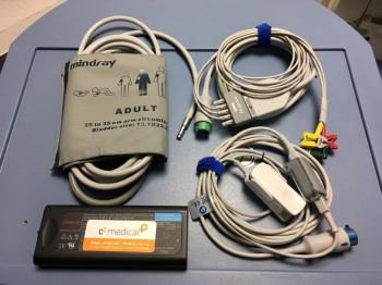 Mindray iPM 10 mit Multigas-Modul und Touchscreen