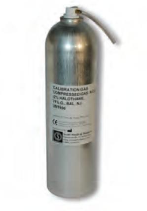 HUL Eichgasflasche Halothan