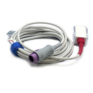 ECO SpO2-Stammkabel LNCS Mindray.->Masimo, 8 PIN (violett)