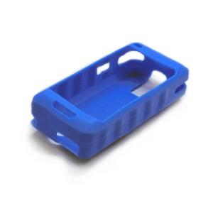 Silikon-Schlagschutzhülle blau für PM-60