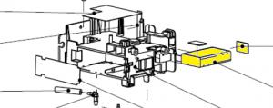 Mindray Lithium Backup Battery 7.4V 900 mAh für T1