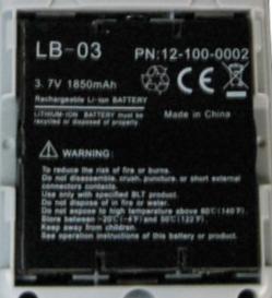 """Li-Ion Akku """"LB-03"""" für Biolight M800"""