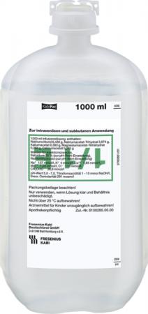 Fresenius Isotonische Kochsalzlösung NaCL 1000ml, Plastikflasche