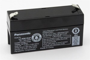 Akku Panasonic LC-R061R3P 6V/1,3AH