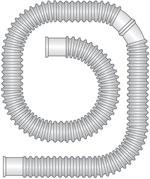 Faltenschlauch 15mm, 50m Rolle