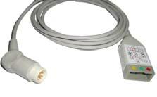 ECO EKG-Stammkabel, HP/Philips, 3-Ableitungen