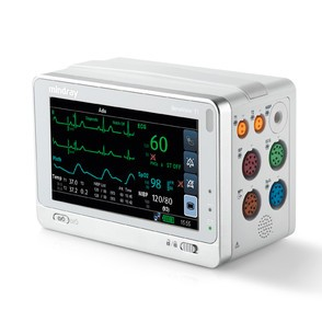 Mindray BeneView T1 Transportmonitor (MR SpO2, 3/5 EKG, NIBP, Temp)