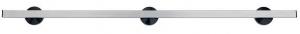 Geräte-/ Normschiene Edelstahl, Länge 120 cm