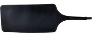 REGER Gummi Neutralelektrode 160x80mm für Erbe