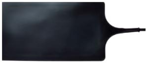 REGER Gummi Neutralelektrode 260x150mm für Erbe