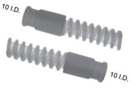 Silikonbeatmungsschlauch Ø 10mm für Kinder, 10mm/10mm