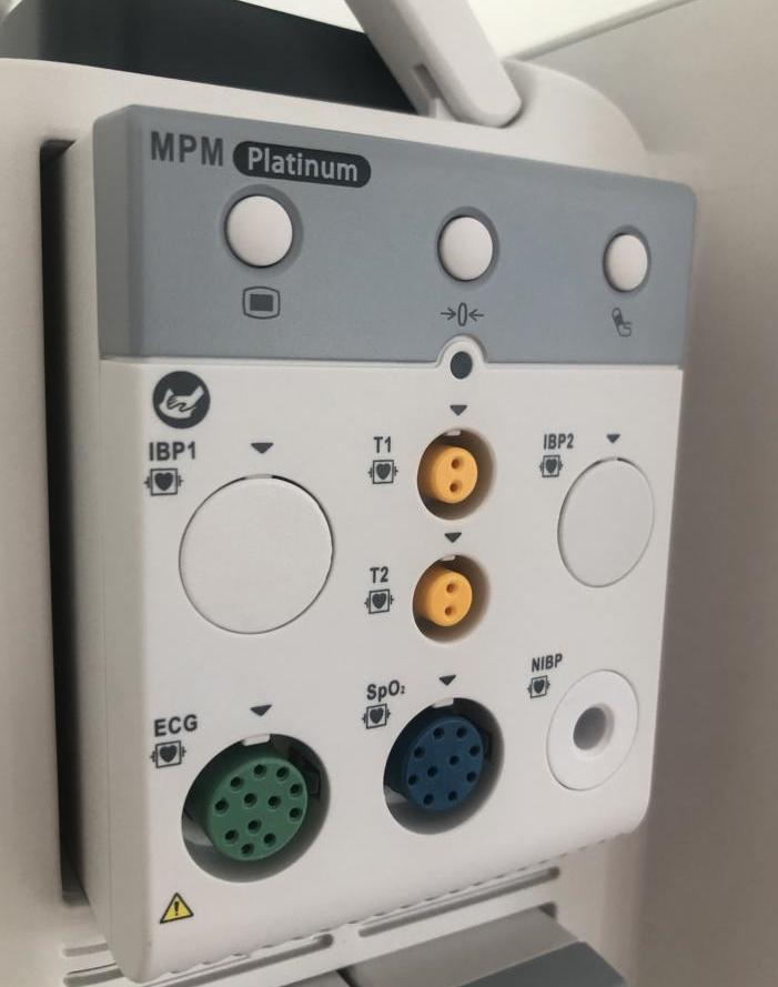 Mindray MPM7 Platinum: MR SpO2, NIBP, 3/5 EKG, Temp.