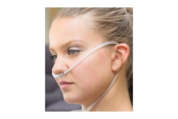 Doppellumen-Nasenbrille