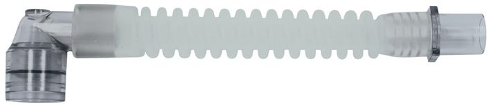 VBM Gänsegurgel mit rechtwinkligem Drehkonnektor 13 cm