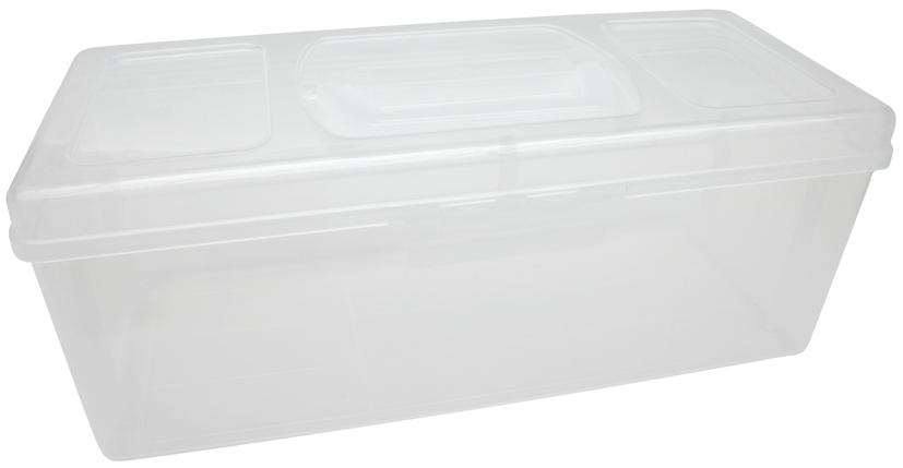 transparenter Koffer Babys