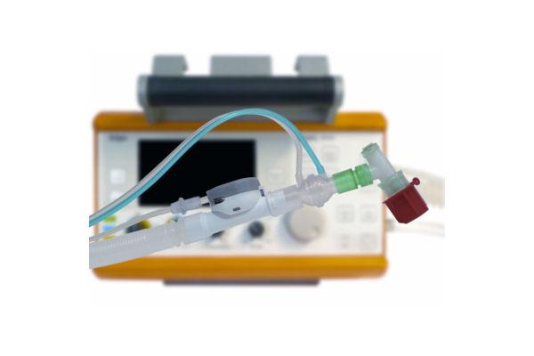 Flextube Transport-Beatmungssystem, kompatibel mit Oxylog® 2000+/3000/3000+