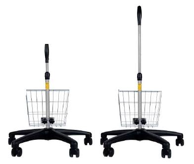 Mistral-Air® Rollständer mit Korb