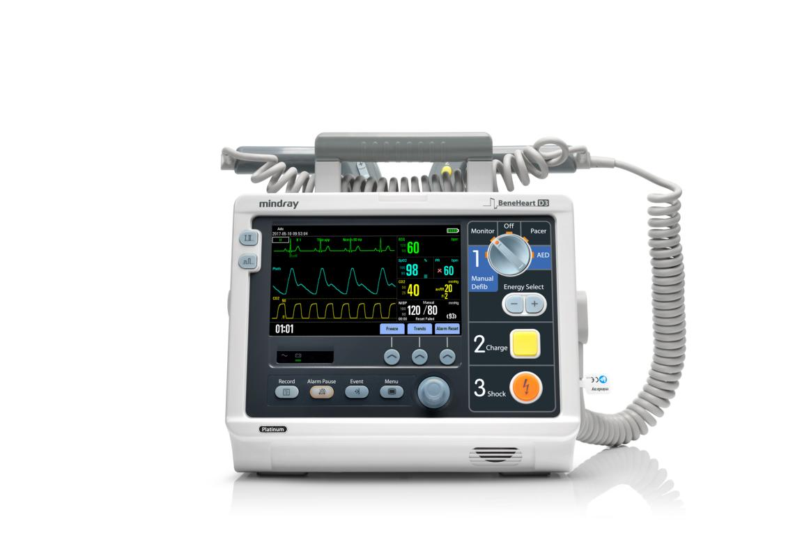 Mindray BeneHeart D3 Platinum Defibrillator #DEMOGERÄT