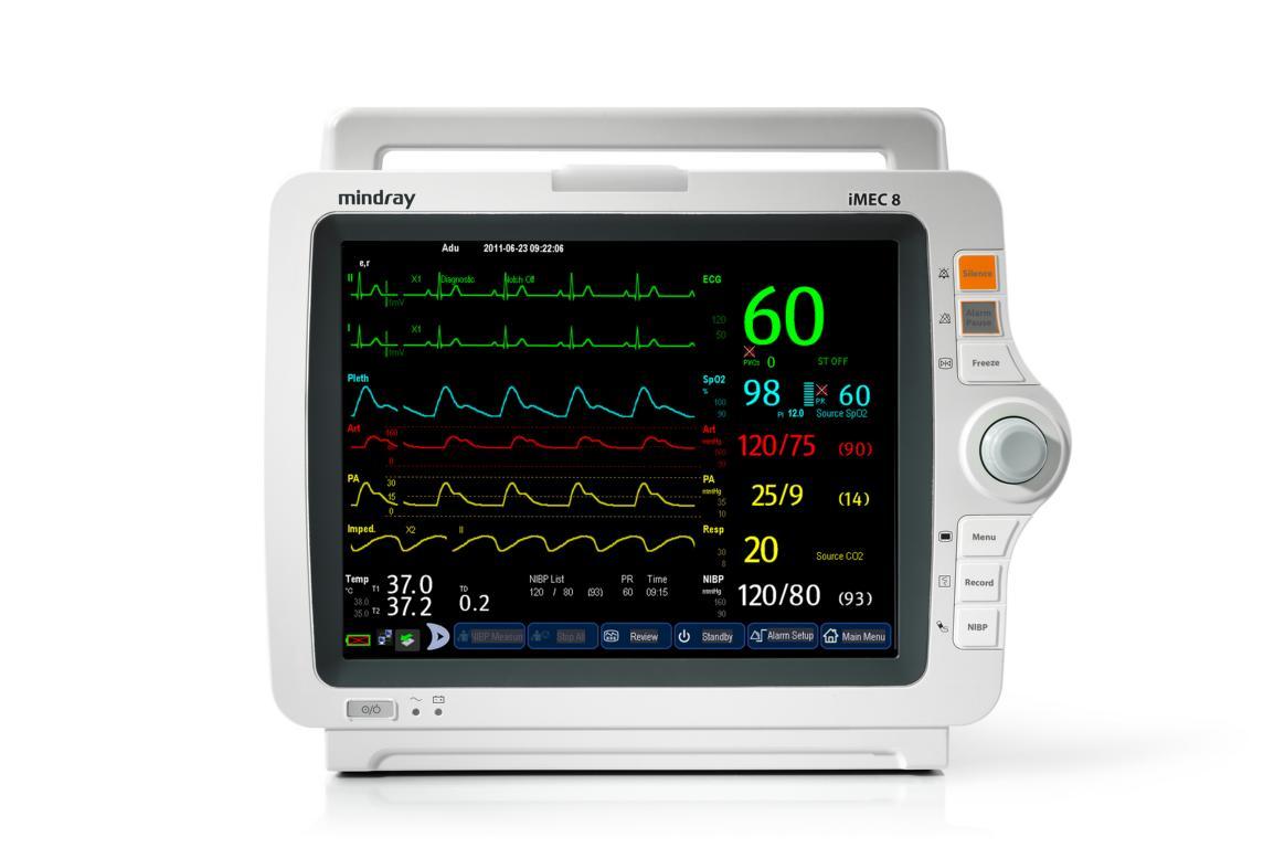 Mindray iMEC 8 Patientenmonitor ohne Touchscreen #DEMOGERÄT